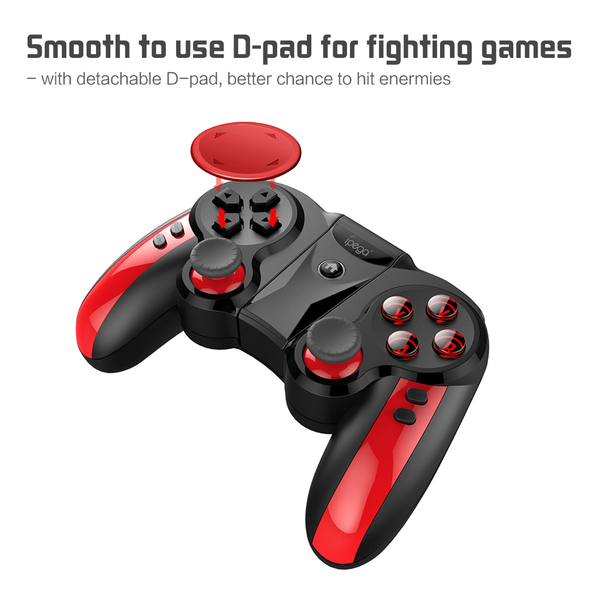 gamepad profesional pirat Bluetooth