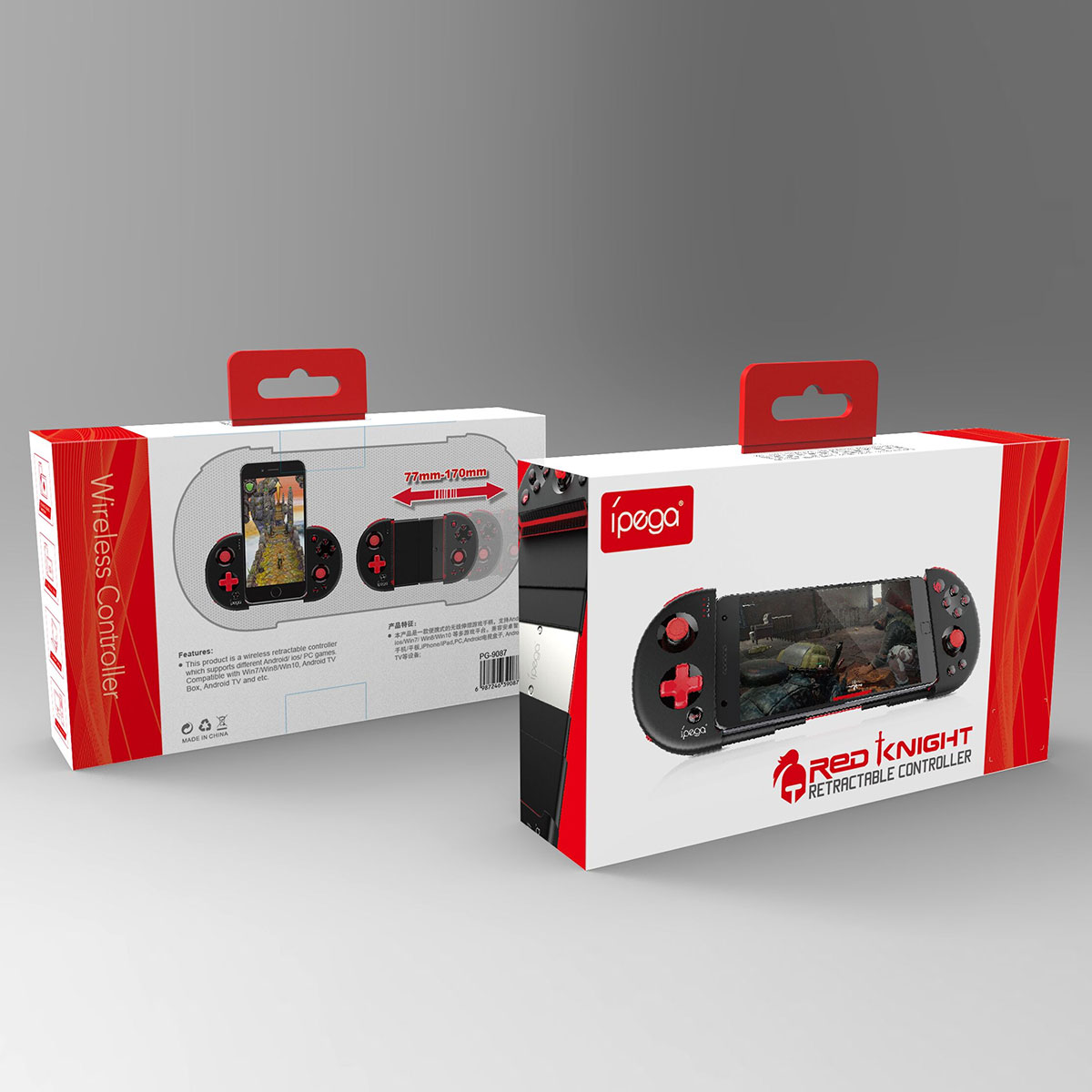 Ipega 9087 Bluetooth stretching gamepad