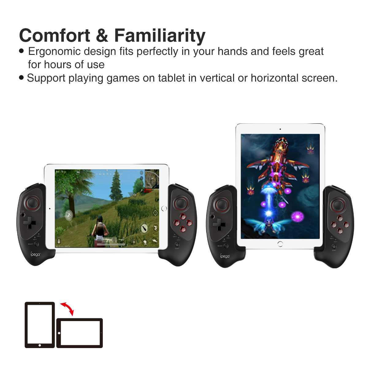 Ipega 9083 Bluetooth stretching gamepad
