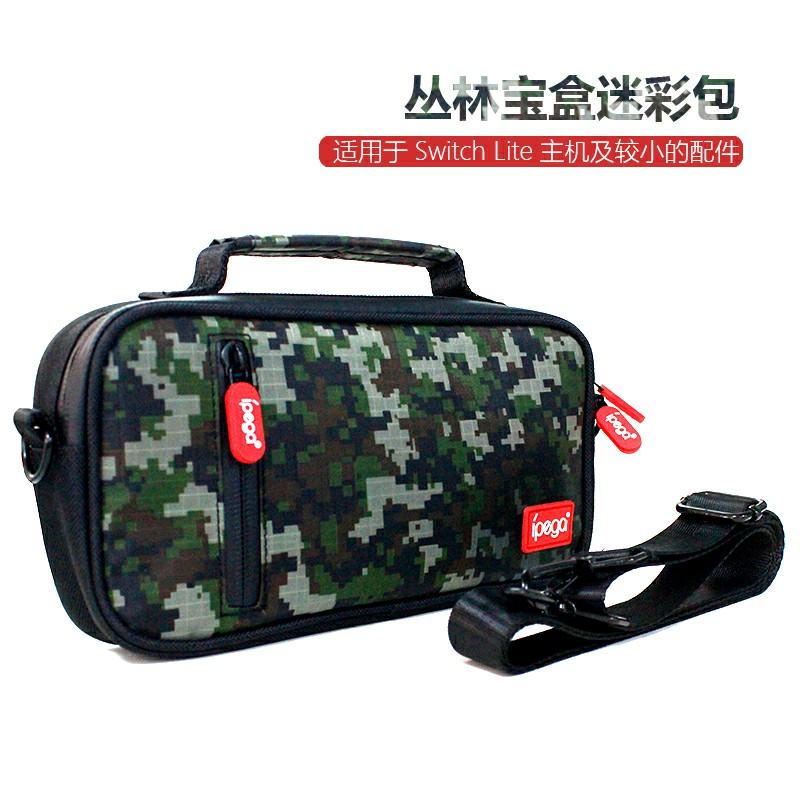 Ipega-SL012 Switch Lite Jungle Treasure Box Camouflage Pack